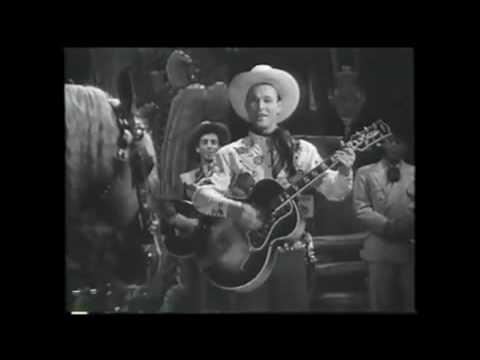 Roy Rogers sings