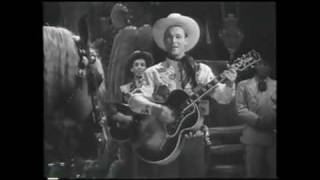 "Roy Rogers sings ""DON"