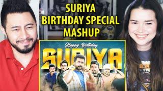 SURIYA BIRTHDAY MASHUP | Linto Kurian | Reaction |
