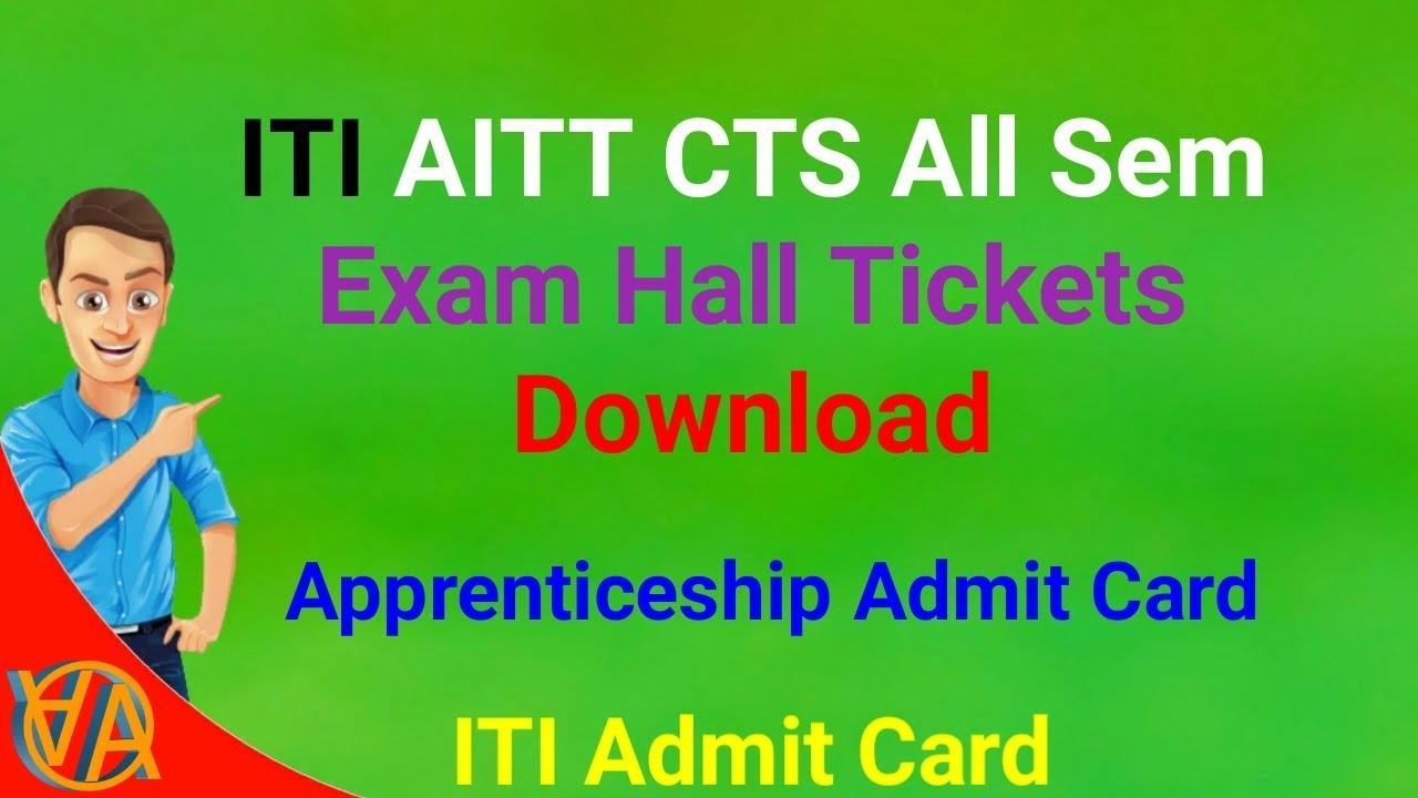 ITI Admit Card | Apprenticeship Admit Card - How to Download | NCVT | DGT |  All Sem Hall Tickets