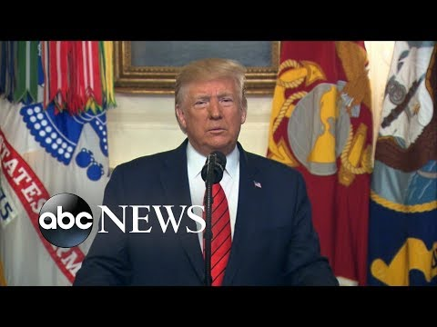 Trump announces death of ISIS leader | ABC News