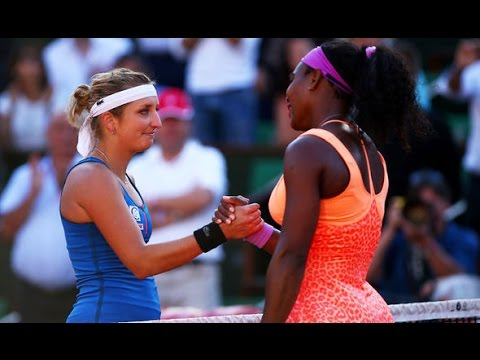 Serena Williams VS Timea Bacsinszky Highlight 2015