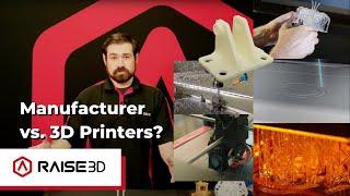Manufacturer Vs. 3D Printer Price Breakdown