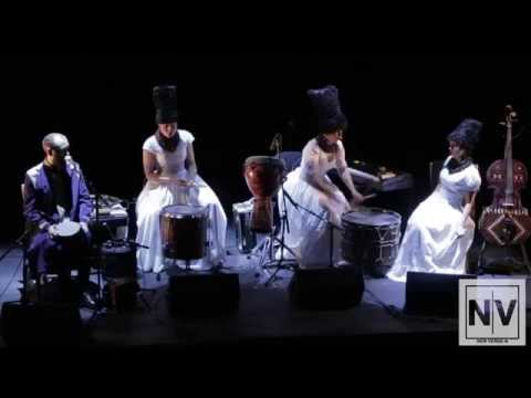 "DakhaBrakha performs ""Tataryn (Tatar)"" at Théâtre Raymond Kabbaz in Los Angeles"