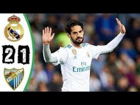 Malaga 1-2 Real Madrid   Goles   COPE   2017/2018