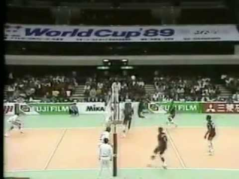 1989 WC Volleyball Men Cuba vs Italy