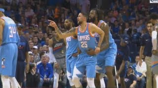 Austin Rivers Tries To Fight Ref After Getting Knocked Over By Russell Westbrook!