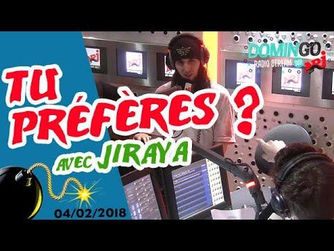 Tu Préfères ? avec Jiraya  - DominGo Radio Stream sur NRJ