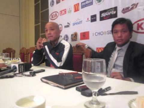 Philippine Football Federation Press Conference (1st part)