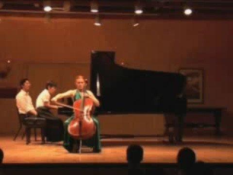 Anna Burden, cello, Schumann Concerto Langsam