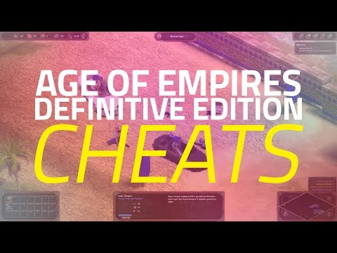 Age Of Empires: Definitive Edition - All Cheat Codes!