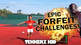 Greatest tekkerz kid forfeit challenges ever!!