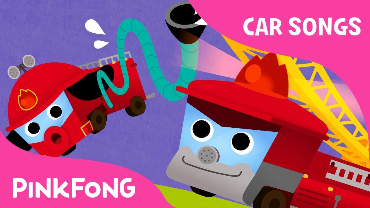 fire truck song car songs pinkfong songs for children youtube