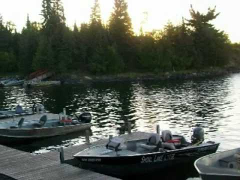 Shoal Lake Fishing, Ontario Canada