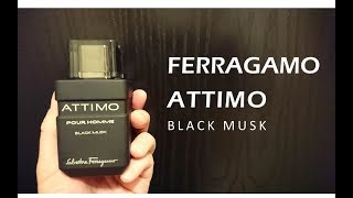 Ferragamo Attimo Black Musk Pour Homme