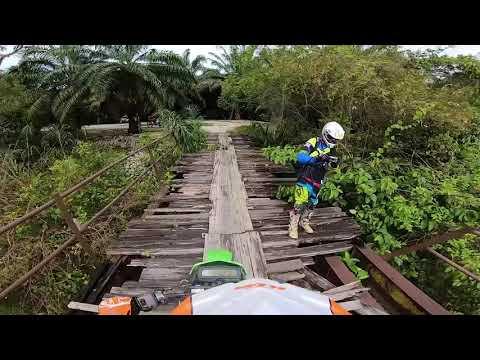 45min POV ride dirtbike full video 1080 Rawang Malaysia '18