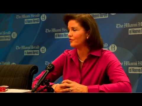Miami Herald interview with Karen Harrington