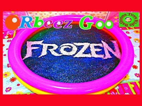 Orbeez Crush Disney Frozen Ice Power Elsa Goo Disney