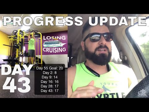 Day 43   Progress Check In   Losing Before Cruising     A Weight Loss Journey Vlog