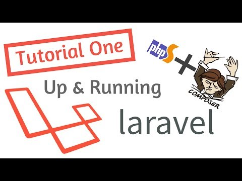 up and running with laravel