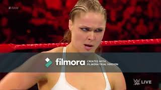 fight Ronda Rousey vs. Alicia Fox: Raw