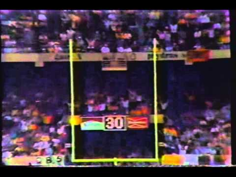NFL 1987 Week 11 ESPN NFL Primetime Highlights
