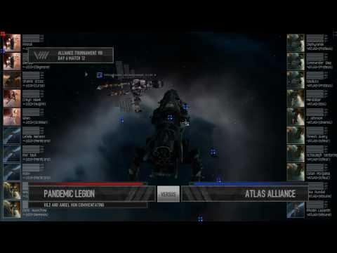 Eve Online - AT8 Day 6 - Pandemic Legion v Atlas Alliance |
