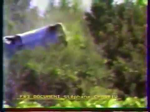 crash accident Ari Vatanen Terry Harryman Tour de Corse 1985 205 t16