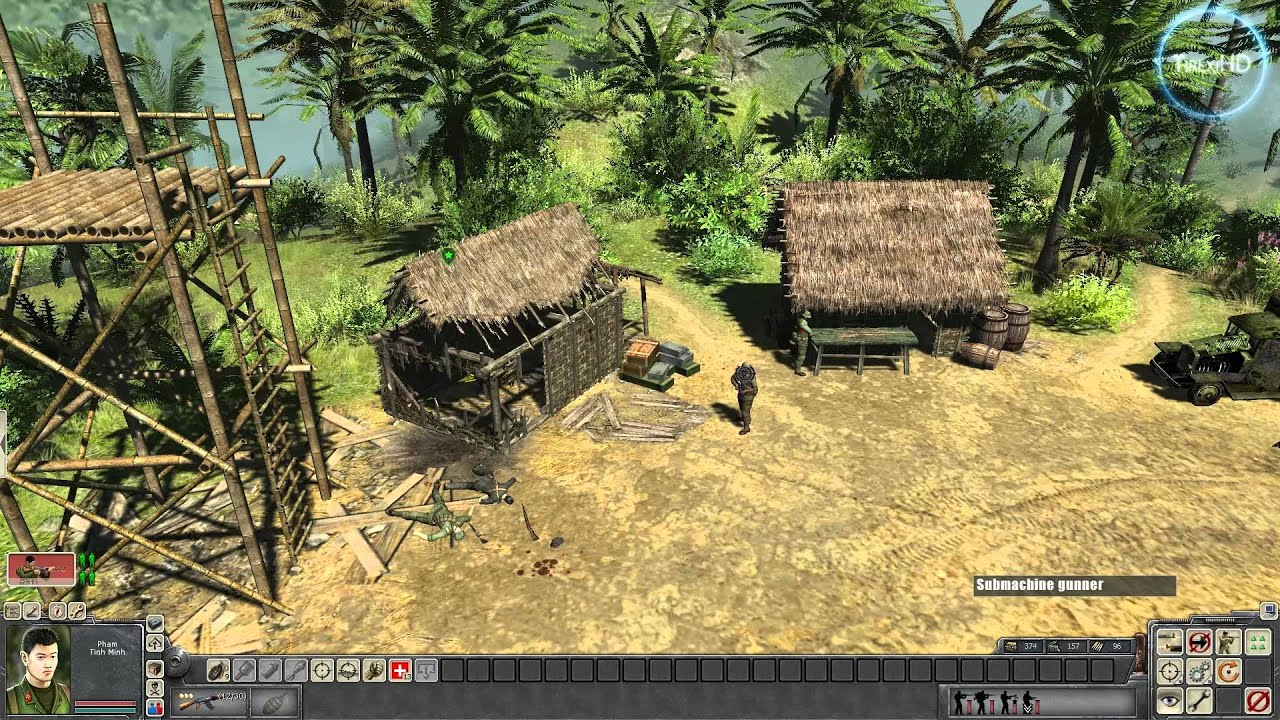Men Of War Vietnam Hd Gameplay Youtube