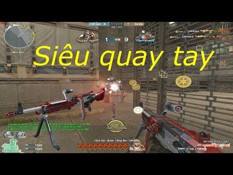 [ Bình Luận CF ] M240B-Red Eagle - Tiền Zombie v4