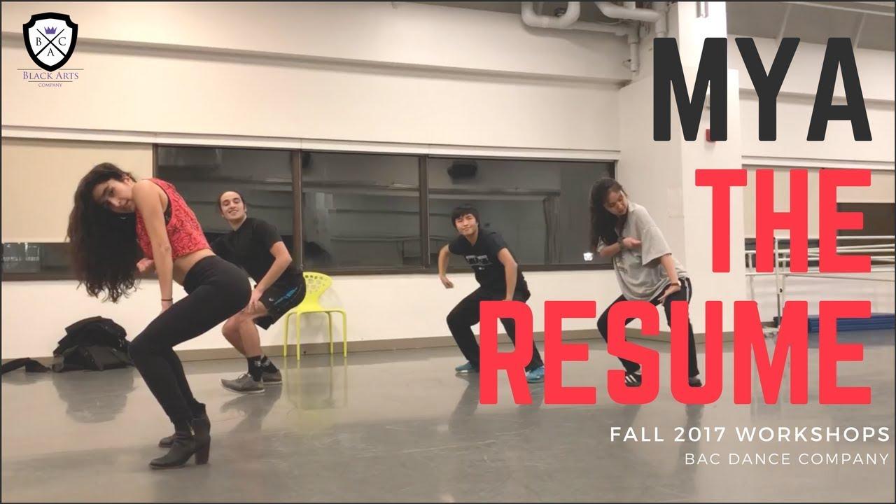 Mya Fall Workshop 2017