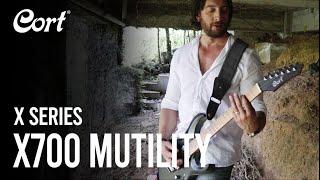 Rodrigo Rosales plays the X700 Mutility | X Series | Cort Electric Guitars