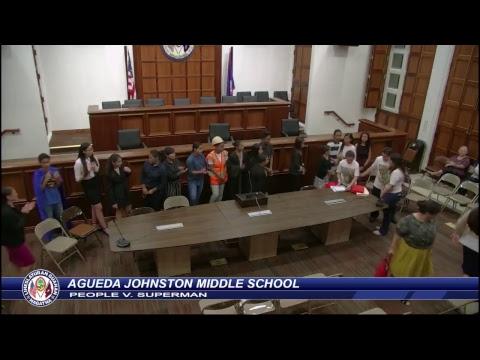 Law Week - Agueda Johnston Middle School - April 27, 2018