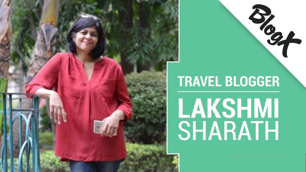 Image of Indian blogger Lakshmi Sharath