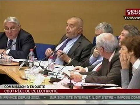 Table ronde des industriels par la commission européenne sur l'électricité - Séance (23/05/2012)