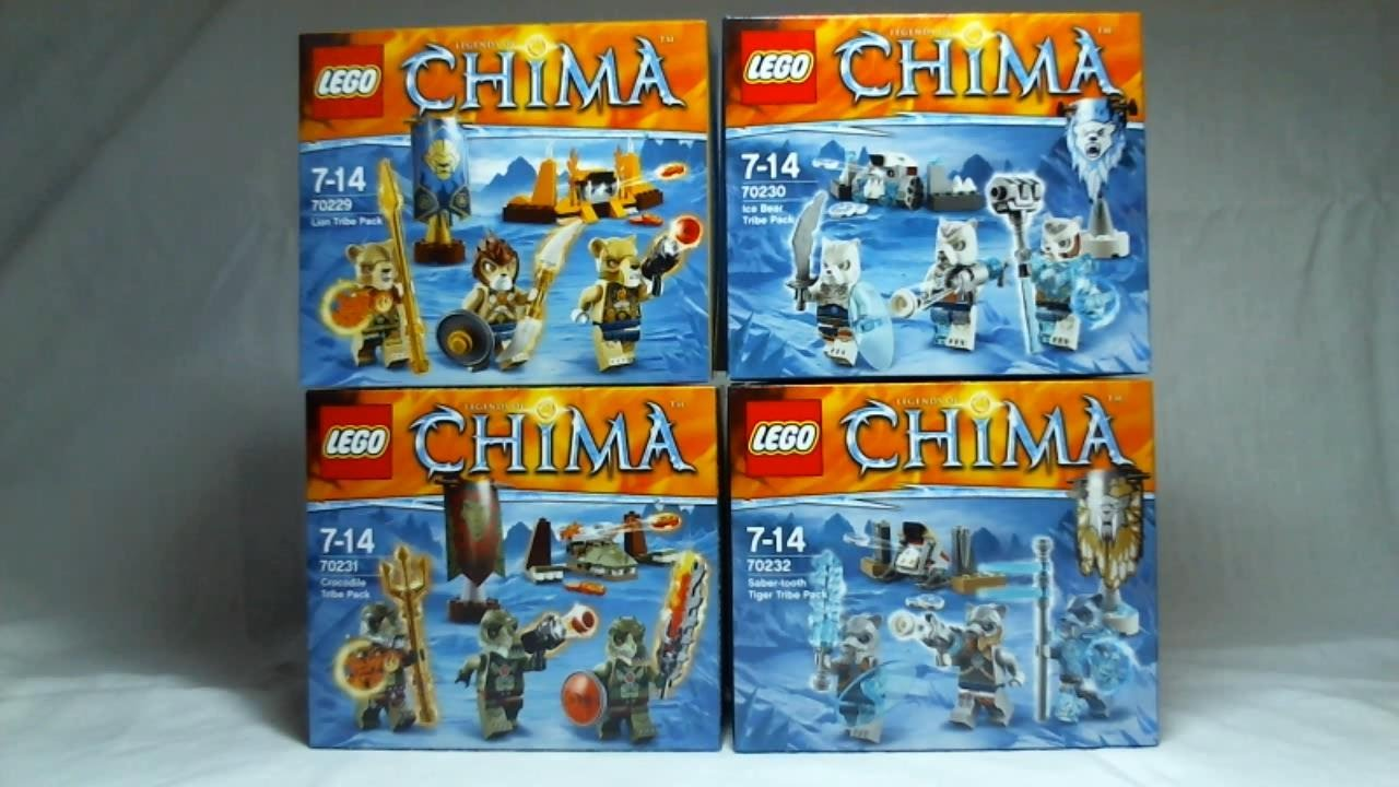 LEGO 70229 Legends of Chima Lion Tribe Pack NEW