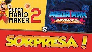 VOLVI CTM! TREMENDA NOCHE DE SUPER MARIO MAKER 2 Y MEGA MAN MAKER Y UNA SORPRESA...