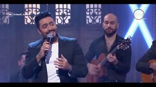 صاحبة السعادة - النجم تامر حسني يكشف سر