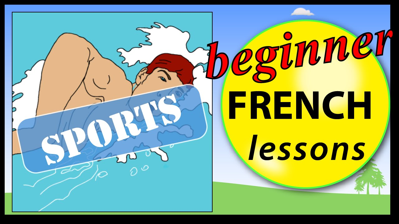 sports in french beginner french lessons for children youtube. Black Bedroom Furniture Sets. Home Design Ideas