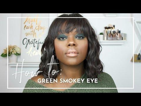 HOW TO | Green Smokey Eye #GRWM