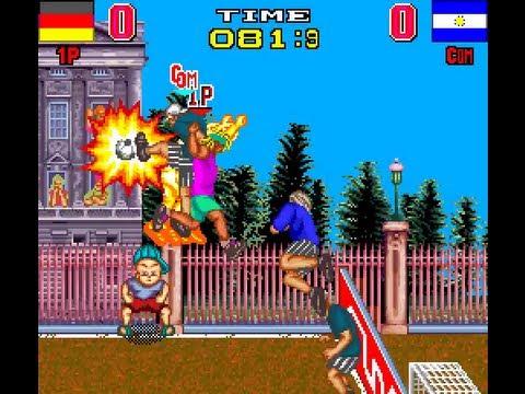 Arcade Longplay [314] Backstreet Soccer