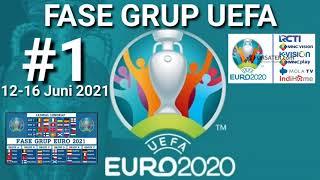 JADWAL PIALA EROPA 2021 MALAM INI  ~ Jadwal EURO 2021 Live di RCTI