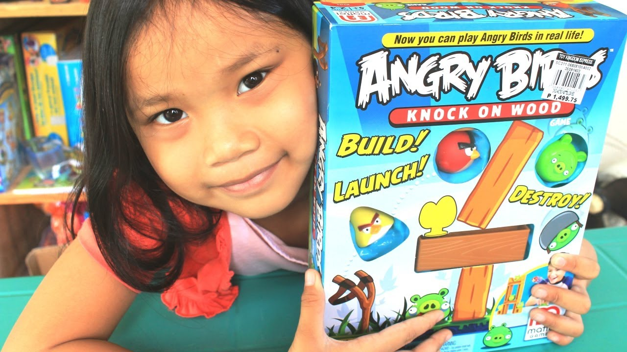 Angry Birds Game: Knock on Wood - Angry Birds Toys by Mattel