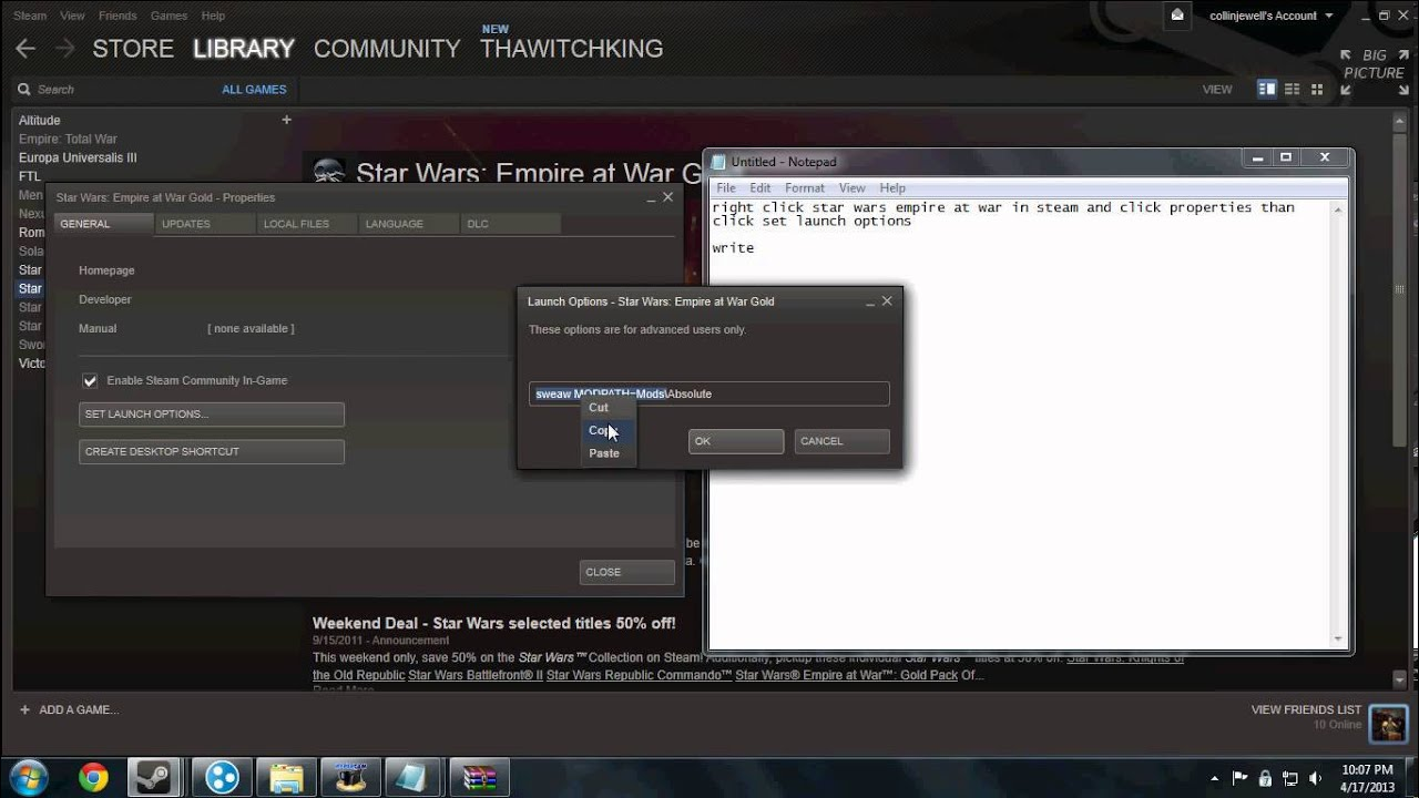 how to download mods from steam