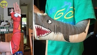 Funny and Creative Cast Art