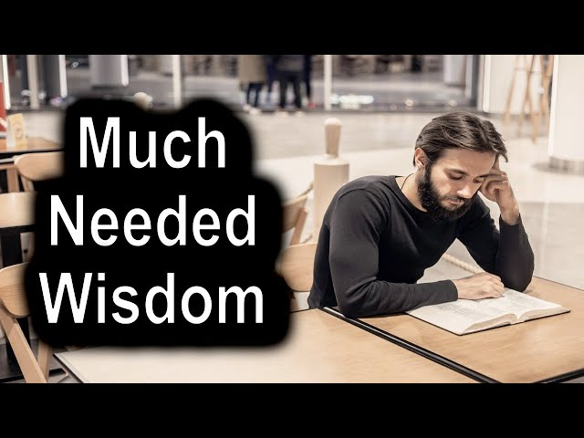 Much Needed Wisdom – Proverbs 29 May 28th, 2020