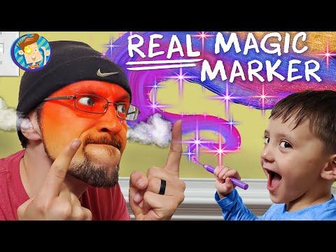 DRAWING On Walls With REAL MAGIC Markers! NO, Shawn! (FV Family Vlog + DIY On TIK TOK)