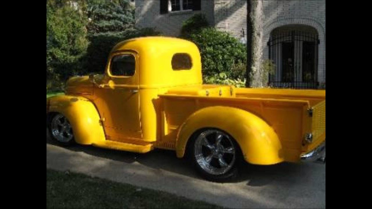 1946 International Harvester Pick Up Truck Youtube