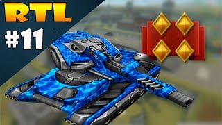Tanki Online ROAD TO LEGEND #11 By LendaBR - Opening Containers + Rank Up