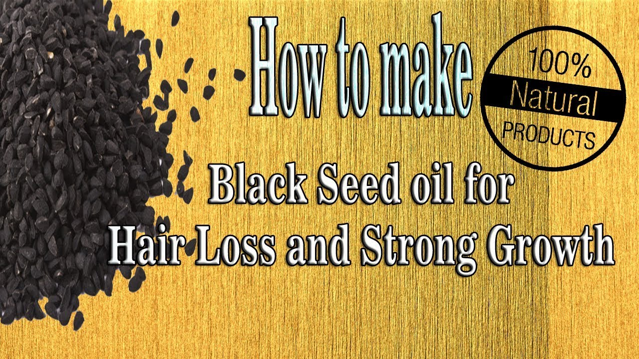 How to make black seed oil at Home | Hair Growth | Reduce Baldness